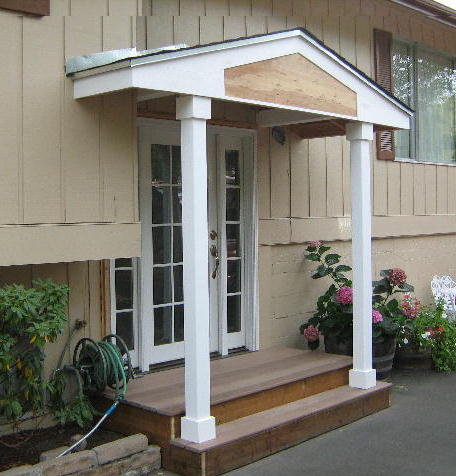 Marvelous Roof Cover And Entry Door