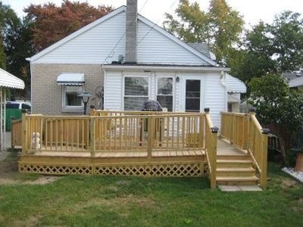 Deck - for in-laws
