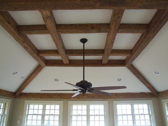 Reclaimed Ceiling Beams By Boards Beams Co