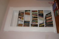 Retro-fit Built-in book case