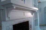 Surprise...another mantel/fireplace