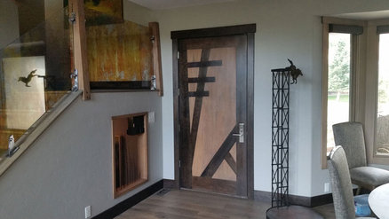 Building a Japanese Timber Frame Inspired front door