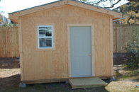 "12'x14' shed  ""MAN CAVE"""
