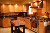 Bamboo Copper Backsplash