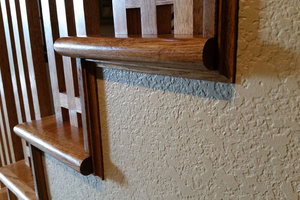 Custom Staircase and Handrail
