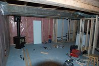 Basement Renos Part 3: Framing and drywall