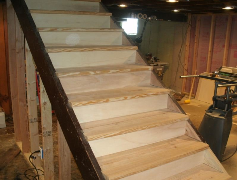 basement steps by thomrider home improvement