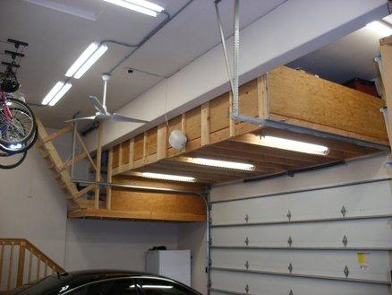 building garage storage