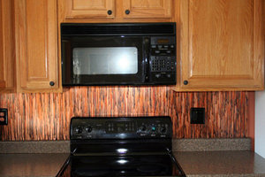 Enchantment Copper Backsplash