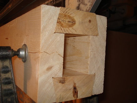 HALF DOVETAIL POST BLANK