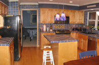 Tile-clad Kitchen