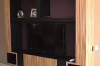 zebrawood entertainment center