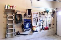 French cleat garage system