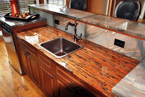 Enchantment Copper Counter w/ Copper Dune Granite