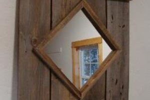 Rustic Barn Mirror
