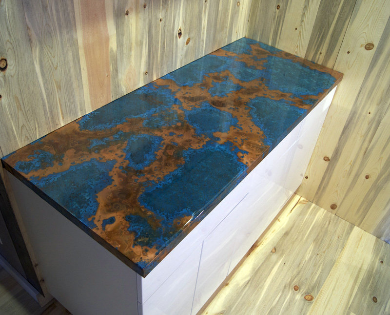 Azul Copper Counter By Dchi Homerefurbers Com Home