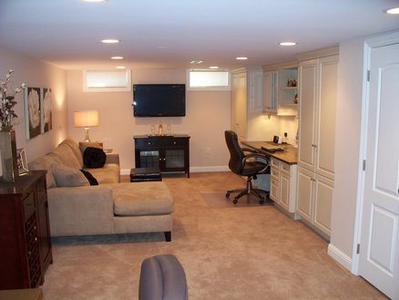 Basement Office/Lounge/Relaxation room