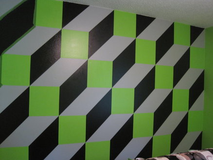 3-D Paint job Son Room