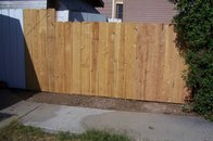 New side yard fence