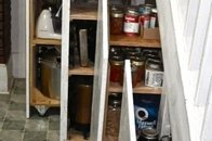 Kitchen Storage -- Happy Camper!!
