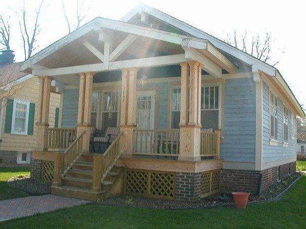 Bungalow porch railing design joy studio design gallery for Bungalow porch columns