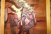 Horses - Intarsia Woodworking