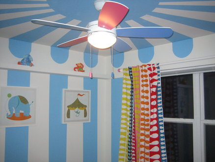Circus Themed Baby's Room