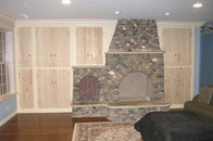 Living room wall unit