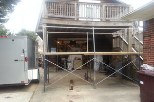 Second Story Deck repair