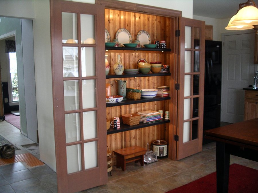 French Door Pantry By Jim Homerefurberscom Home