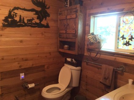 2nd bathroom at the cabin