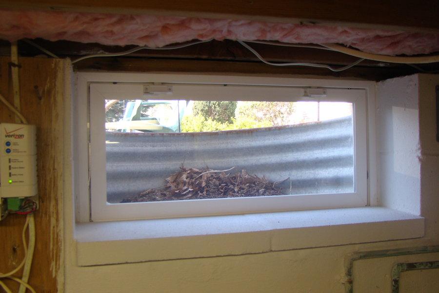 New Thermopane Basement Windows By Jim Homerefurbers