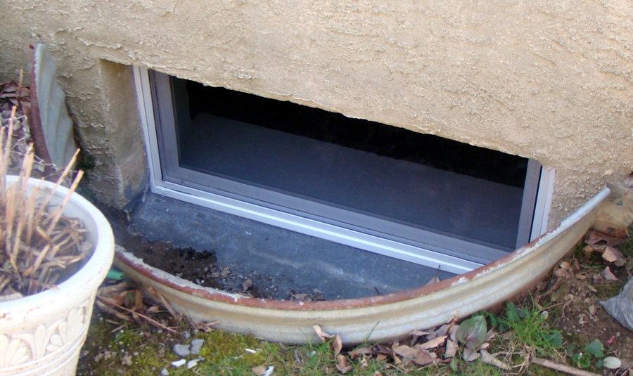 new thermopane basement windows by jim home