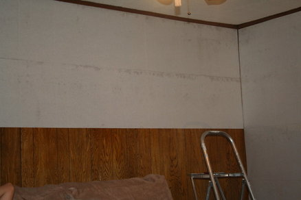 how to put wallpaper on painted wall