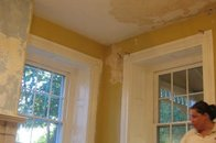 Living Room refurb -- plaster newbies