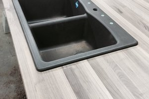 Custom Butcher Block Countertop for Island