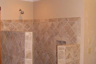 Replacing Fiberglass shower with Ceramic Tile