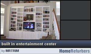 Click for details: built in entertainment center