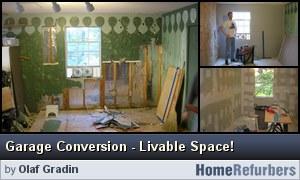 Click for details: Garage Conversion - Livable Space!